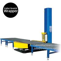 China Small-Footprint Online Pallet Wrapping Machine Turntable Stretch Wrapper on sale