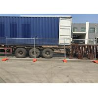China Cheapest Temporary Fencing Panels 2.1mx2.4m OD32mm*1.40mm wholesale