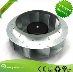 Quality similar EBM EC Motor Fan Blower , Backward Curved Centrifugal Duct Fan for sale