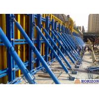 China Adjustable Single Sided Wall Formwork , High Tensile Steel Single Sided Formwork wholesale