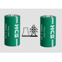 China Primary 22000mAh Spiral 3V Mno2 Lithium Ion Battery , Cylindrical Cell For Oil wholesale