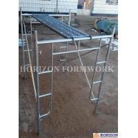 China Open End Frame Scaffolding System , Steel Stair Scaffolding System Height 1930mm wholesale