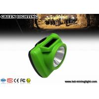 Quality CREE led Mining Cap Lights , Underground Cap Lamps rechargeable lithium ion for sale