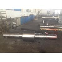 Quality 100 Ton Wheel Shaft Open Die Free Forging Mining Machinery Parts , Stainless Steel for sale