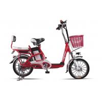 China Lady , Students Lithium Bicycle Small Electric Bikes With Removable Battery Box wholesale