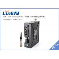 Wholesale Digital Microwave COFDM Video Transmitter NLOS LOS QPSK Low Latency 130ms from china suppliers