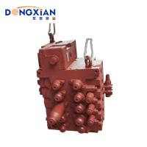 China Original Red Color Control Valve Main Control Valve for 20 Ton Excavator wholesale