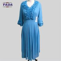 China Fashionable high quality new style ladies prom silm dresses long dress for lady on sale