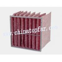 Buy cheap Pocket air filter,Bag type air filter,air filteration equipment,extended surface muti-pocket filter from wholesalers