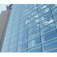 China Double Glazed Unitized Glass Curtain Wall with 8mm+12A+8mm coated glass wholesale