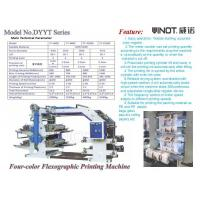 China Four Color Flexographic Printing Machine Customized for Morocco Max web width 600mm wholesale