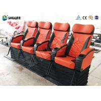 China Electronic 4d Theater System Movie Theater Equipment 4 Seats With Vibration wholesale