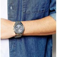 China Wholeale NEW GENUINE EMPORIO ARMANI AR6088 TAZIO 2 TONE BLUE MEN'S WATCH wholesale