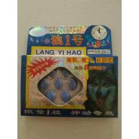 Buy cheap Lang yi hao herbal male sex enhancement pill Wolf No.1 powerful strong sex from wholesalers