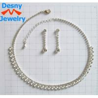 China American Standard Fashion Celtic Jewelry Necklace and Earring Set for Engagement OEM wholesale