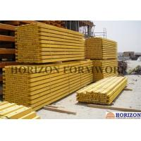 China Light Weight  H20 Timber Beam Spruce Wood Waterproof Painted Multi Applications wholesale
