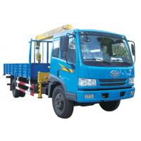 Buy cheap 4 Ton Hydraulic Telescopic Boom Truck Mounted Crane For Construction from wholesalers