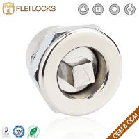 Quality Industrial Hardware Quarter Turn Cam Lock 20*20 Size For Electric Cabinet for sale