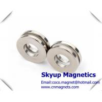 Ring  rare earth NdFeB Magnets used in Electronics and small motors ,with ISO/TS certification