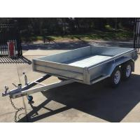 China 10x6 Hot Dipped Galvanized Tandem Trailer 2000KG wholesale