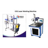China Food Package CO2 Laser Marking Machine Plastic Paper Sticker Box Cardboard Print on sale