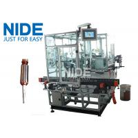 China Double Flyer Rotor Windier Armature Coil Winding Machine For Hook Type Commutator wholesale