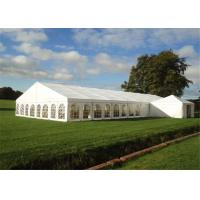 China With Roof Linings Custom Event Tents For Wedding Party White High Peak Canopy wholesale
