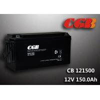 China SLA CB121500 deep cycle 12v battery , 150AH Long Life Lead Acid Battery For EPS wholesale