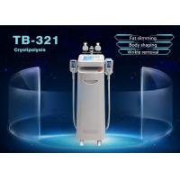 China 5 Handle Cryolipolysis Slimming Machine Fat Removal Skin Tighten For Face and Body on sale