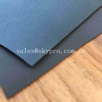 China 0.9mm Colored Glossy Rubberized Cloth Thick Neoprene Fabric , Airprene Fabric For Industry Boat wholesale