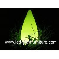 China Polyethylene Water drop Led Lamp Bluetooth Speaker for outdoor / indoor wholesale