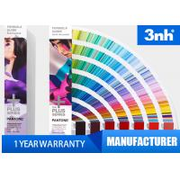 China Coated / Uncoated CU Colour Shade Card Formula Guide With 1867 Colors wholesale