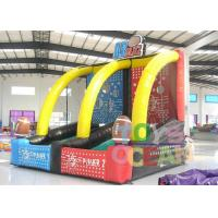 Quality Commercial Grade Inflatable Sport Game Two Players Inflatable Basketball for sale