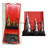 Buy cheap 3PC Spiral Flute Step Drill Set from wholesalers