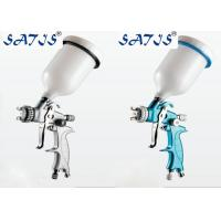 Quality Gravity Feed HVLP Spray Gun Die-Casting Body E-Coating Finish 600ml Nylon Cup for sale
