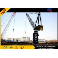 China Span 50M  Fast Erecting Luffing Jib Crane , 50m Free Height Tower Crane wholesale