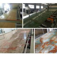 China Compact PVC / Marble / Plastic Board Extrusion Machine High Performance wholesale