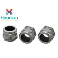 China M8 Metric Thread IP68 Cable Connector , Water Resistance Steel Cable Gland wholesale