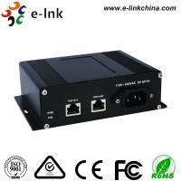 China Industrial Gigabit Power Over Ethernet Injector with AC Power Input wholesale