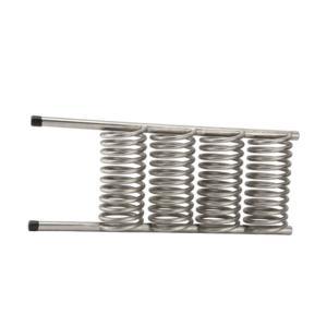 China 50M3/H Titanium Tube Heat Exchanger High Transfer Refrigeration Parts wholesale