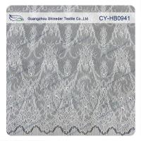 China Antique Decorative Eyelash Embroidered Wide Stretch decorative Lace Trim Fabric wholesale