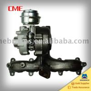 China turbocharger(GT1749V)713672-0002,713673-0006,038253019 for AUDI A3 TDI, VW GOLF TDI, SEAT LEON, VW SHARAN TDI on sale