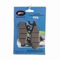 China motocycle parts: brake pads for motorcycle, high performance wholesale