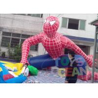 China Giant Custom Advertising Inflatables Spider Man For Promotion PVC wholesale