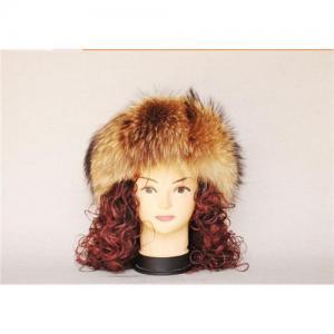 China Raccoon fur hat 001 wholesale