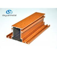 China Mill Finished / Wood Grain Extruded Aluminum Shapes Aluminium Extrusion Profile wholesale