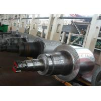 China Custom Stepped Steel Roller, Roller Forging, DIN ISO, Forged Hot Roll EF+ LF + VD wholesale