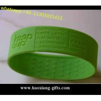 China Promotional 202*15*2mm any color Silicone Wristband/bracelet Glow in dark wholesale
