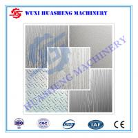 China Art Embooment Texture Stainless Steel Press Plates S S.304 / S S.410 wholesale