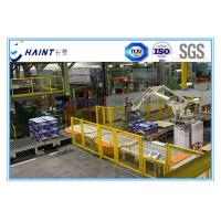 China Paper Mill Automatic Palletizer Machine , Robotic Palletizing System For Carton Boxes wholesale